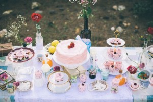 DIY Tea Party Engagement