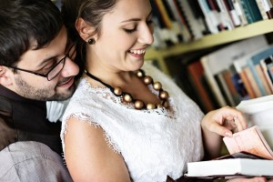 Library Concept Wedding