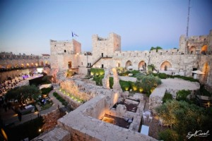 Tower of David Wedding