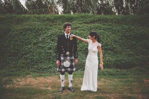 Shany & Mark's Scottish Wedding