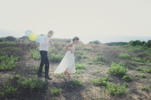 A Beautiful Mint & Lemon Wedding