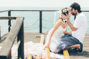 Or & Omer's Picnic Beach Wedding