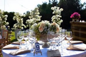 Spanish Village Themed Wedding