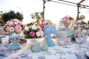 A Magical English Tea Party Wedding