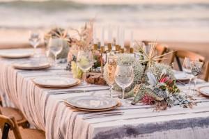 An Intimate Feast on the Beach
