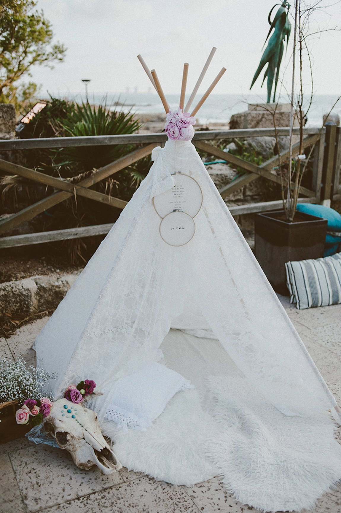 Ela and Anthony's Boho Chic Wedding