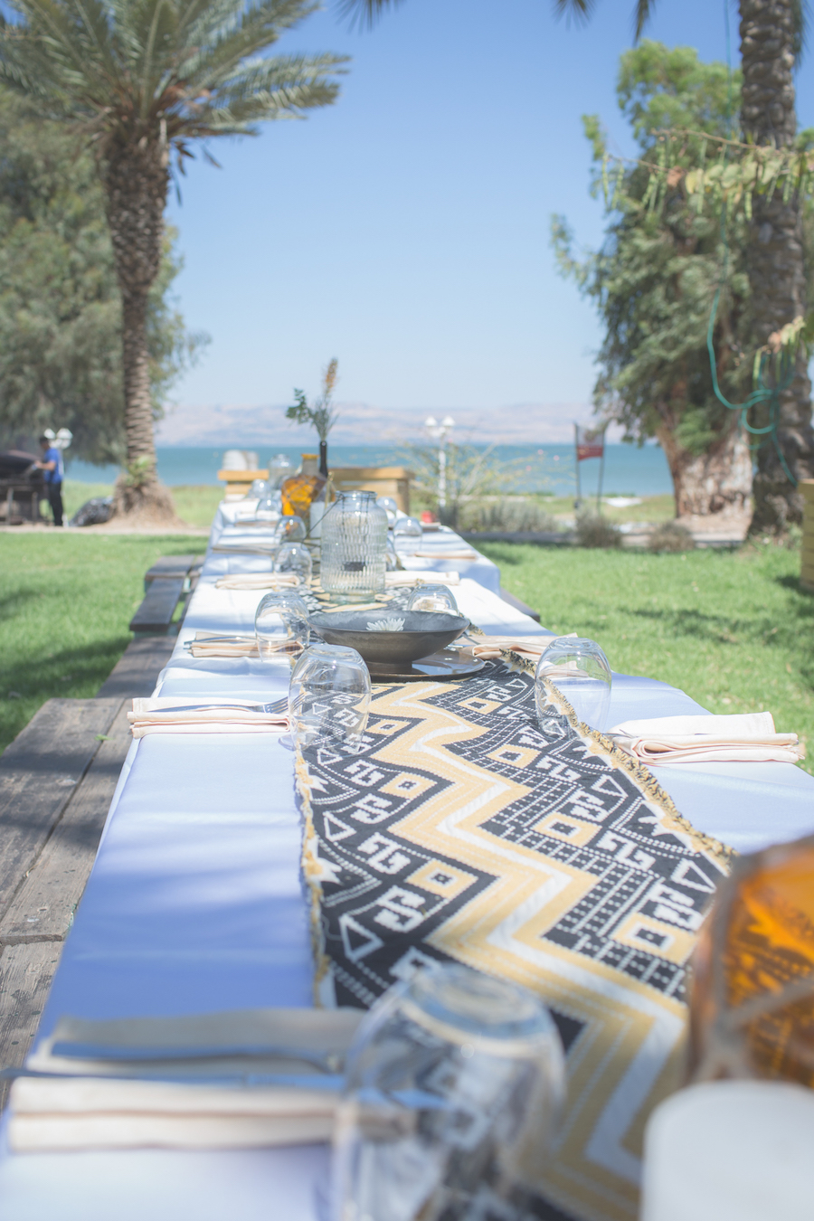 Sea of Galilee Glamping Wedding